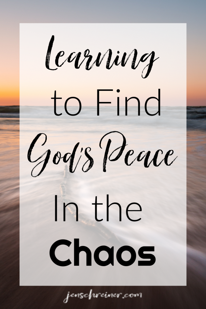 Learning to Live in God's Rest - Letting Go of The Chaos (In God's Rest)