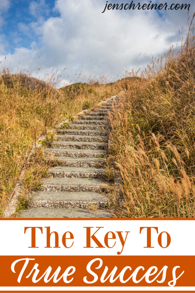 God created us all to be winners. The key to True Success all starts with God first. Learn how to step out in faith and give up control all for His Glory.